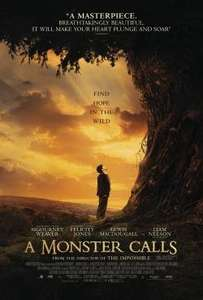 Free Movie Screening SFF A Monster Calls (Liam Neeson) Rated 12 A