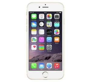 iPhone 6 16GB gold white black refurbished sim free £299 @ argos
