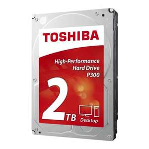 "Toshiba P300 2TB 7200RPM 3.5"" HDD £58.95 @ Amazon"