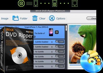 WinX DVD Ripper Platinum - Free