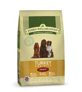 James Wellbeloved - 15kg Bags Adult Dog Food - Massive Price Drop! £30.39 Amazon Prime Exclusive