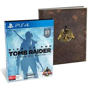 Rise of the Tomb Raider: 20 Year Celebration Artbook Edition PS4 £24.99 @ Amazon