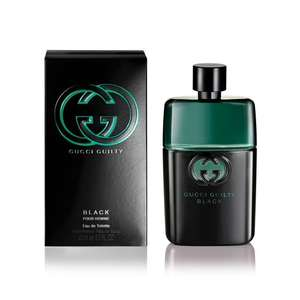 Gucci Guilty Black Eau de Toilette Spray for Him 90 ml, £29.79 from amazon lightning deal