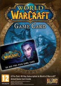 World of Warcraft EU 60 Days Time Card, £16.58 at Scdkeys