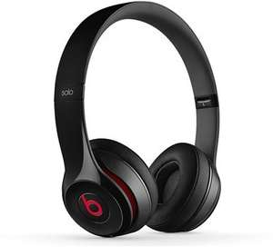 Beats Solo2 Headphones Gloss Black - Genuine Beats By Dre Headphones with 12 Months Warranty £49.99 studentcomputers 'As New'