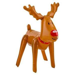 Christmas Inflatable reindeer - £1 Poundland