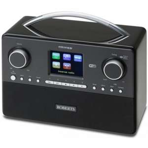 Roberts Stream 93i DAB and WiFi Radio Black -- free delivery £132.90 @ GoElectrical