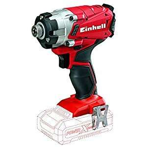 Einhell 4510023 18 V TE-CI 18 Li Solo Power X-Change Lithium Cordless Impact Screwdriver - Red at Amazon (Lightning Deal)