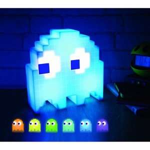 PAC-MAN Colour Changing Ghost Light now £11.99 delvered using code at IWOOT (Rubiks Cube, Death Star and more in comments)