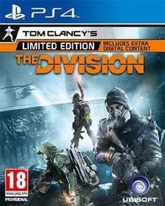 Tom Clancy's The Division Limited Edition (PS4/XB1) £12.99 @ GAME 10% Quidco