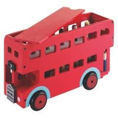 Lovely wooden red bus and fire engine reduced from £35 to £20 / £24.95 delivered at Habitat