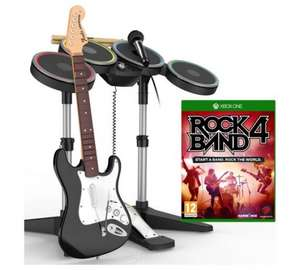 Rock Band 4 Band-In-A-Box - Xbox One & Playstation 4 @ Argos £79.99