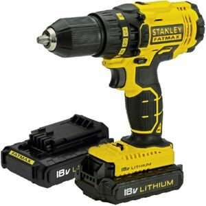 Stanley Fatmax drill/driver 18V with 2 batteries £47.46 @ Homebase