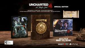 Uncharted 4: A Thief's End Special Edition + Uncharted 4 DLC Pre Order Pack - Shopto £34.85
