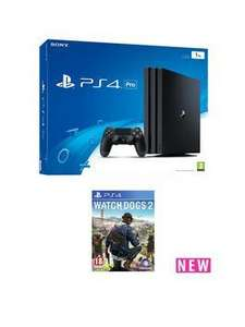 ps4 pro with watch dogs £369.99 intrest free upto 12 months on new and existing cutomer accounts 20% refunded to your account making it £295.20