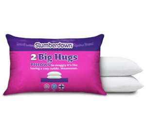 Slumberdown Big Hug Pair of Pillows £7.60 @ argos (Free C&C)