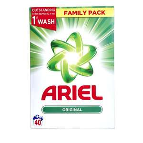 Ariel Washing Powder 40 Washes 2.6Kg - £5.50 @ Tesco