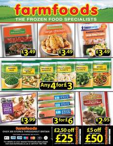 FarmFoods Offers various starting £3 for 4