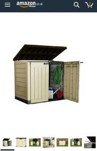 Keter max it out storage 145cm x 125cm x 82cm £89.78 Amazon