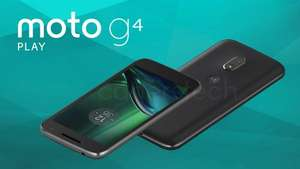 """Moto G4 Play 5"""" HD, Android 6.0.1, Black/White - was £129.99 now £79.01 with codes stack @ Motorola"""