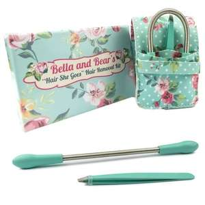 Facial Epilator and Tweezers from Bella and Bear £11 (£3.99 P&P <£20) was £25 @ Amazon