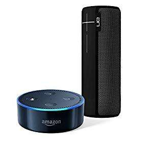 Amazon Echo Dot BLACK and UE BOOM 2 £109.99
