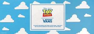 Vans Toy story Shoes now available! £30 at Vans for Toddler/£60 for adults (+ £3 P&P or Free del on a £35 spend 10% Quidco)