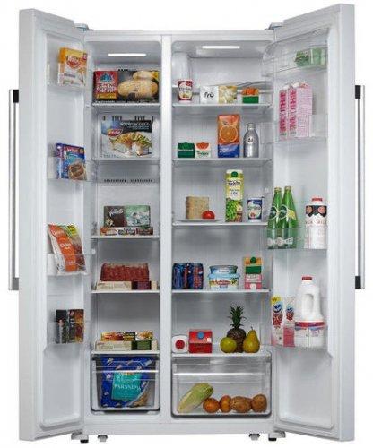KENWOOD KFF2DW14 American-Style Fridge Freezer White for £369.99 (Using Voucher Code) at Currys