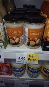 Tesco Goose Fat 220g Only £1 (was £2.00)