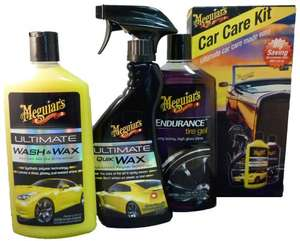 Meguiars Car Care Kit for £14 at Halfords (Free R+C)