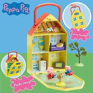 peppa pig playhouse set now £10 prime / £14.75 non prime RRP £19.99 @ Amazon