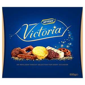 Mcvities Victoria Biscuits 650g  £3 @ Morrisons - ** this has now expired**
