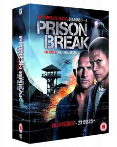 Prison Break - Complete Seasons 1-4 DVD - £15.00 prime / £17.99 non prime @ Amazon