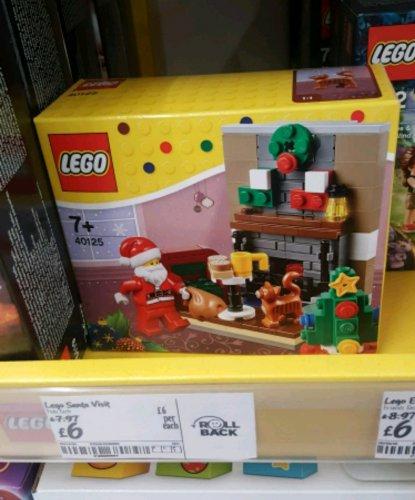 LEGO Santa's Visit 40125 £6 instore Asda Glenrothes
