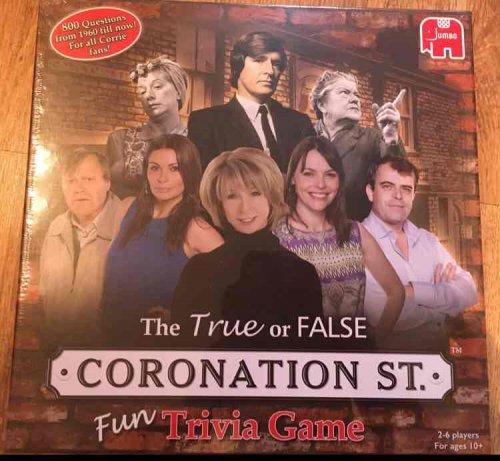coronation street trivia game £1.99 home bargains