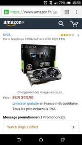 EVGA FTW Gtx 1070 393€ - £334 @ Amazon France (Temporarily out of stock)