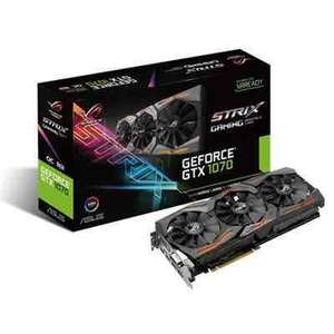 ASUS Strix GTX1070 8G Graphics Card for £434.99 plus free ROG mousemat or Cerberus mouse + Watchdogs 2 @ Yoyotech