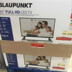 Blaupunkt 40inch full led tv £140 @ Sainsbury's instore - bishops Stortford