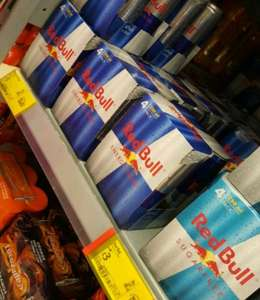 Red Bull Multipack X4 £3 instore @ Asda Blackburn