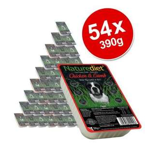 "Naturediet Mixed Saver Pack 54 x 390g W/CODE ""BLACK-FIVE-DAY"" £31.19 @ Zooplus"