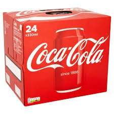 Coca-Cola 24 x 330ml £6 at Iceland and Morrisons