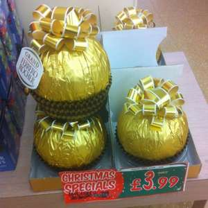 Ferrero rocher grand eggs plus Christmas stars  £3.99 Jack Fulton