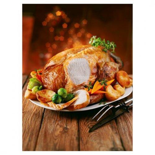 Tesco Frozen Bronze Turkey 3.6 - 5.0Kg £20 @ Tesco