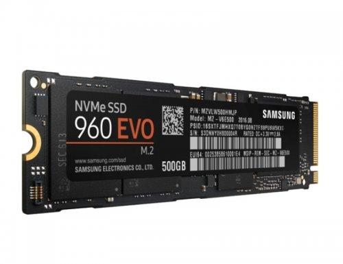 Samsung 500GB 960 EVO SSD M.2 (3,000MB/s+ read speed) £211.85 from eBuyer
