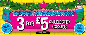 30%off selected goodies continues on Smiggle + free del on £30 spend +also 3 for £5+ 5.5% Quidco