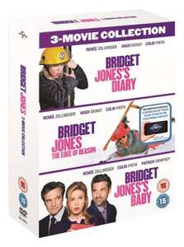 Bridget Jones's Diary/The Edge of Reason/Bridget Jones's Baby (with UltraViolet Copy) [DVD] - £15 @ Zoom