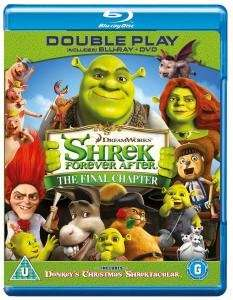 Shrek Forever After (+ others) BluRay £1 @ Poundland