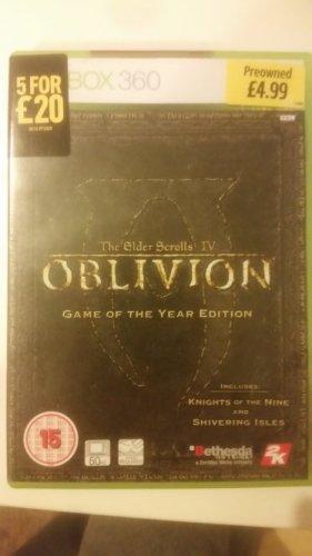 Oblivion GOTY Edition - £4.99 GAME (Instore)