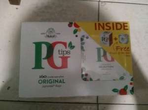 160 PG Tips & 20 Flavoured £1.99 @ Poundstretchers