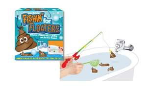 Fishin For Floaters £3.20 (with code) with free C&C or 3 for £10 The Works